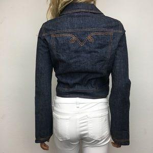 Vintage Guess Cropped Denim Jacket